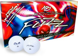 fuzz ball low compression distance golf ball