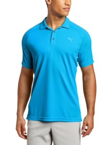 puma golf na mens raglan tech polo tee