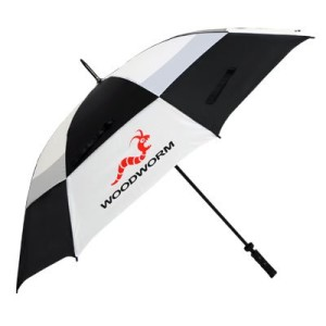 woodworm double canopy golf umbrella